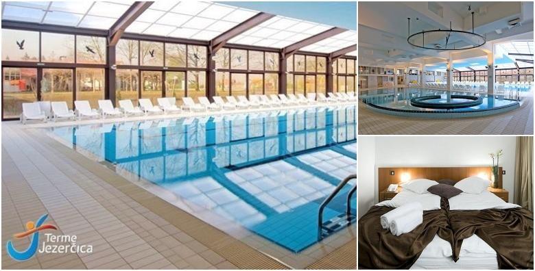POPUST: 52% - Terme Jezerčica - wellness odmor uz 1 noćenje s polupansionom za dvoje te neograničeno korištenje bazena i fitnessa uz popuste na masaže za 499 kn! (Terme Jezerčica)