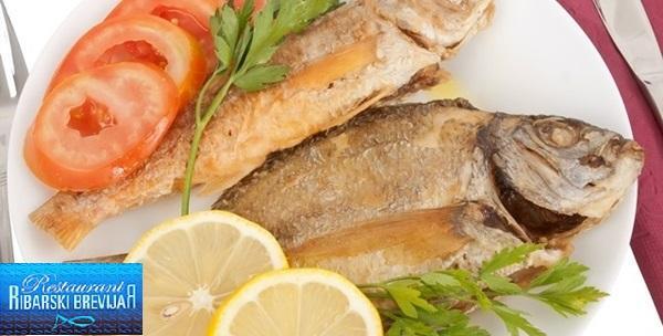 Bijela riba na gradele u 3 slijeda za 2 osobe