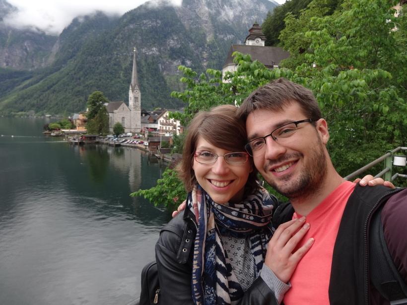 Romantična jesen u Hallstattu